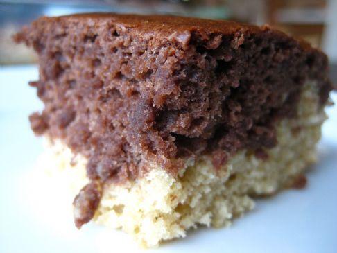 Vegan Fat-Free Marble Cake