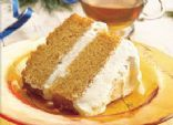 Pumpkin Angel Food Cake with Creamy Filling