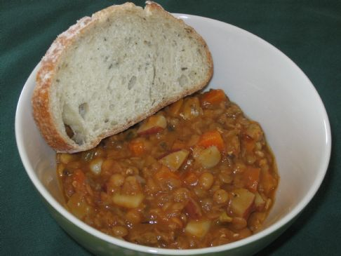 Faki-Lentil Soup