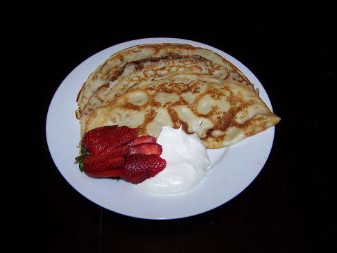 Finnish Pancakes Recipe