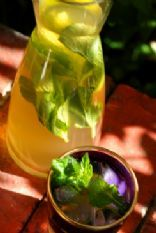 Soothing Mint and Ginger Iced Tea