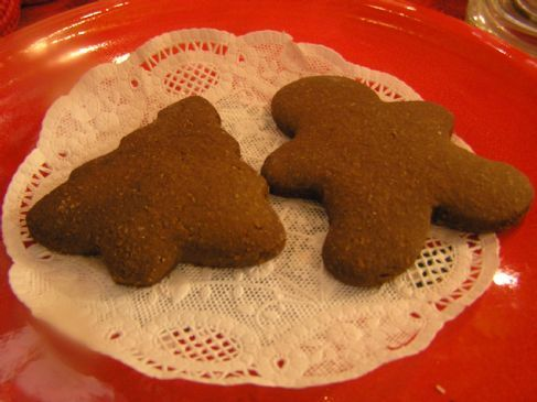 Splenda Gingerbread Cookie