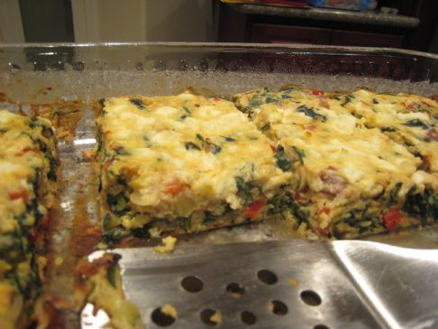 Veggie Loaded Quiche