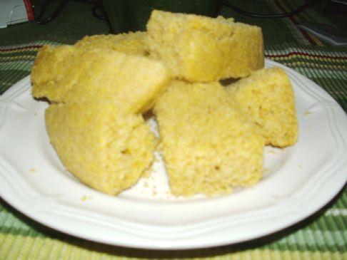 Rhea's Whole Wheat Corn Bread Bars