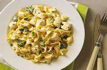 cheesy chicken noodle skillet