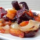 Roasted Beets 'n' Sweets, all recipe