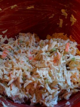 Crab Shrimp Salad