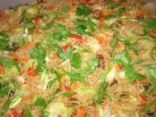 Pancit Pangasinan or Filipino Rice Stick Special
