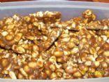 Low carb peanut brittle