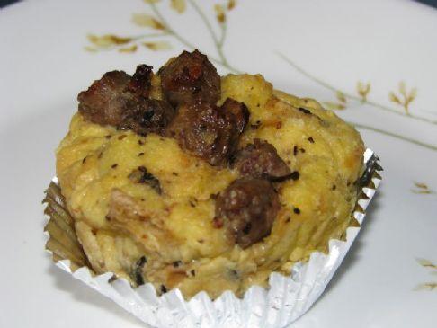 Egg  & Sausage Grab & Go Muffins
