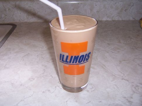 Banana Peanut Butter Coco Smoothie