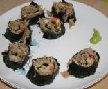 Vegan Raw Sushi