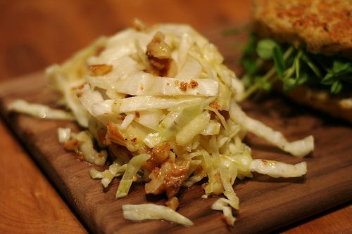 Crunchy Cabbage Slaw Salad