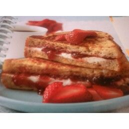 Fruit and Cheese-Stuffed French Toast