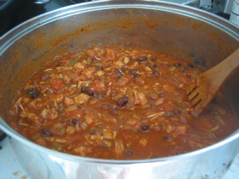 Hearty Chicken Chili Recipe | SparkRecipes