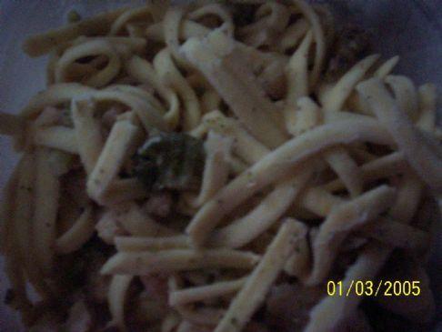 Sherry's Chicken/Broccoli Pasta Alfredo