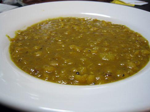 Yellow Split-Pea & Sweet Potato Soup