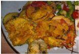 Summer Tomato Zucchini Gratin (Vegan)
