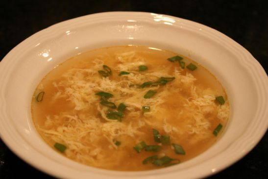 Andi's Egg Drop Soup