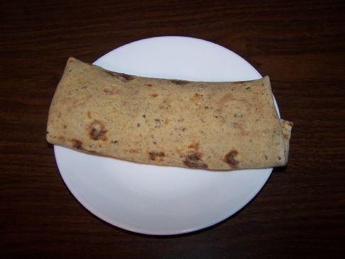 Smoked Salmon Breakfast Wrap