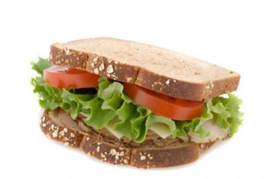 Italian Turkey-Pesto Sandwich from