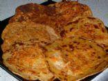 Low-Calorie Carrot Pancakes