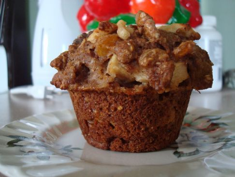 Cinnamon Apple Muffins