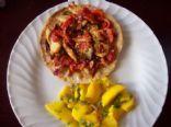Chicken Tortilla Pizza