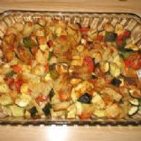 Zuchinni & Potato Bake