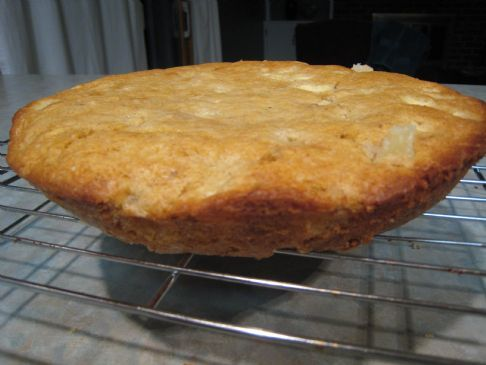 Autumn Apple Cake (from Cooking Light)