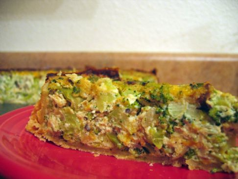 Tofu Broccoli Quiche