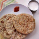 Chana Dal Parantha or Bengal Gram Dal Parantha