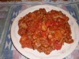 Crockpot Hamburger Stew