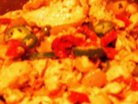 spicy chicken with sun dried tomatoes