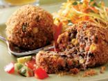 Black Bean Croquettes with Fresh Salsa
