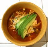 Super Easy 5 Step Chicken Tortilla Soup