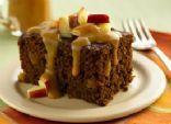 Yoplait Ginger Cake with Caramel-Apple Topping
