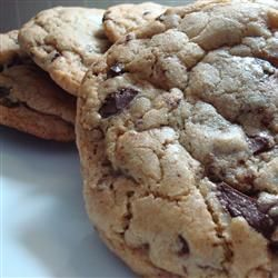 Chocolate chip cookie recipe fat