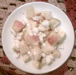 Provencal Apple Salad... For one.