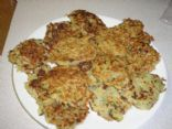 Hannukah Potato and Zucchini Latkes (Pancakes)