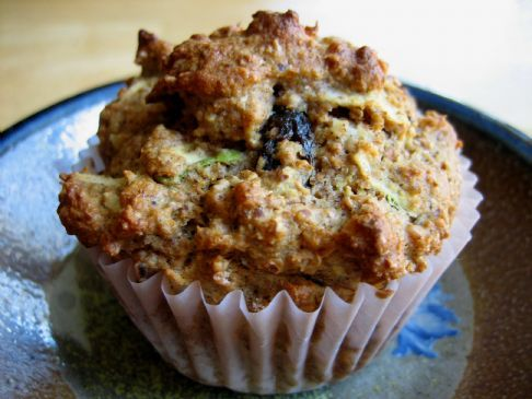 Low- Carb,  High- Fiber Bran Muffins (rich in omega 3 fatty acid)