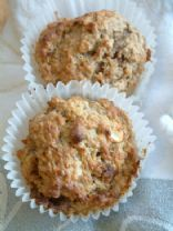 Banana and Peanut Muffins