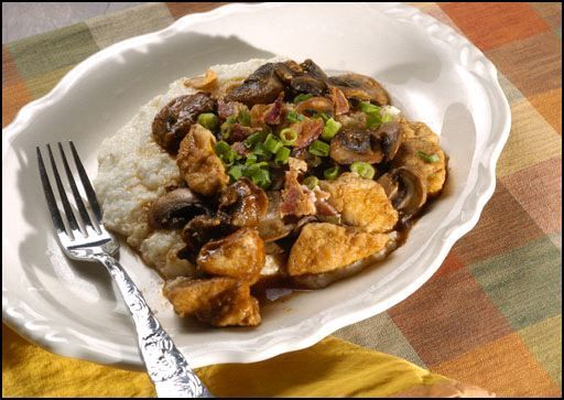 Chicken Ferocious Over Rice