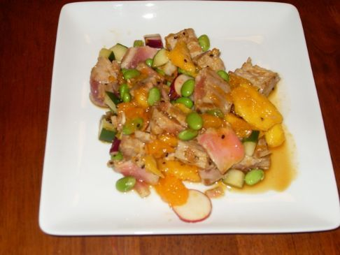Tropical Tuna Salad Supper