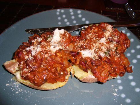 Carly's Meaty-Beany Chili