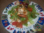 chicken ginger salad
