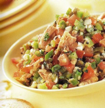 Tunisian Tuna Salad