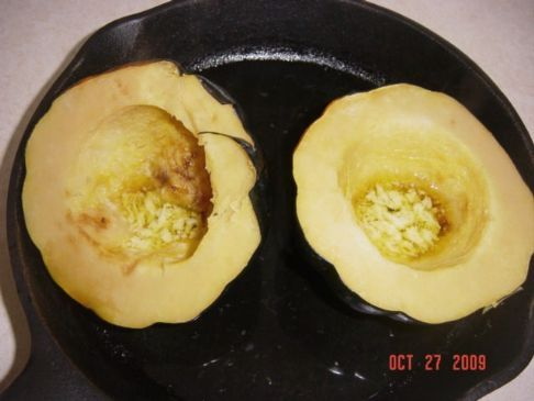 Acorn Squash with Brown Sugar