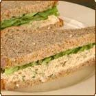 Tuna and Apple Sandwich