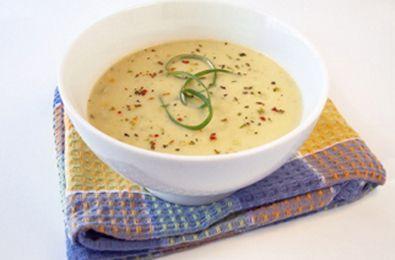 Vegan Creamy Potato Leek Soup